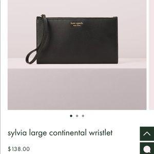 Kate Spade Black Wallet/ Wristlet